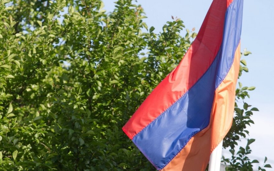Armenia's Eurasian Union membership should not block EU ties, Lithuanian foreign minister says