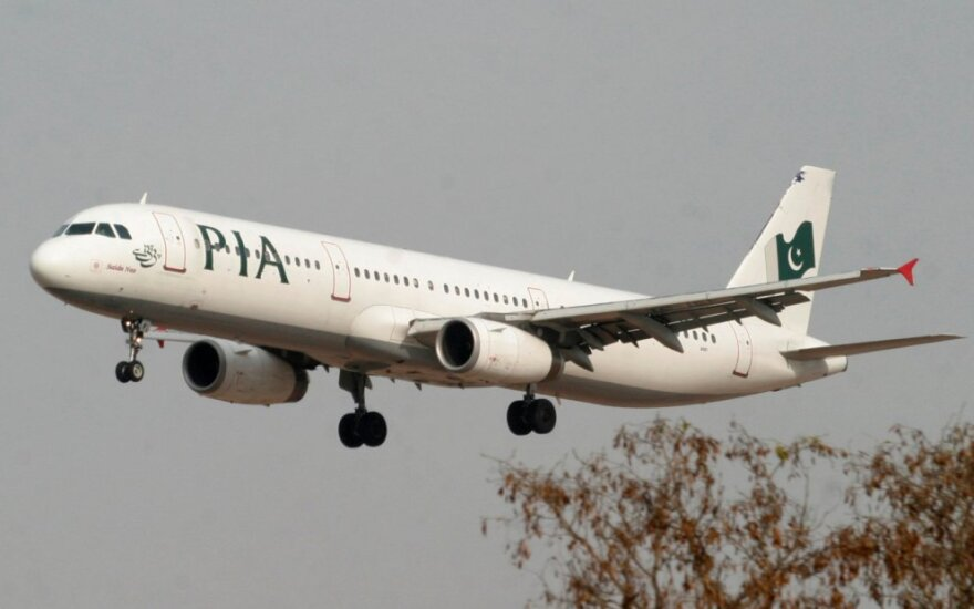 """Pakistan International Airlines"" lėktuvas"