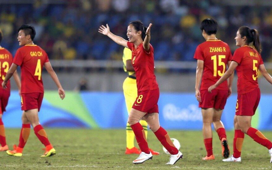 Rio žaidynėse – fantastiškas kinės įvartis kone iš aikštės vidurio