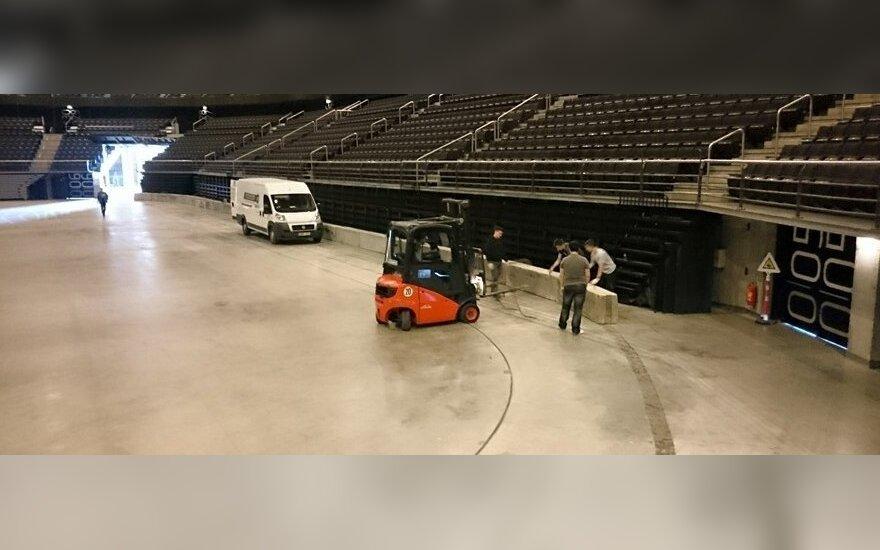 """""""Žalgirio"""" arena jau paruošta drifterių kovoms"""