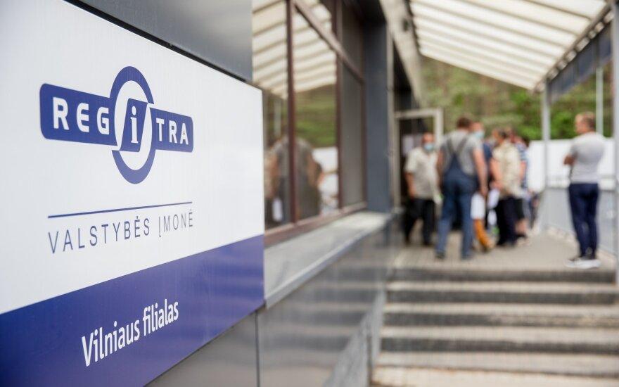 """""""Regitra"""" keičia tvarką: užsiregistruoti vizitui pavyks tik suvedus į telefoną atsiųstą kodą"""