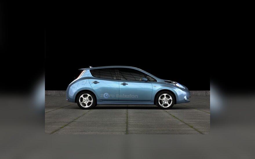 Airija rengiasi elektromobilių naudojimui