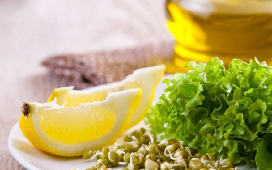 Lieknėjantiems: Augustės salotos su žaliosiomis pupelėmis