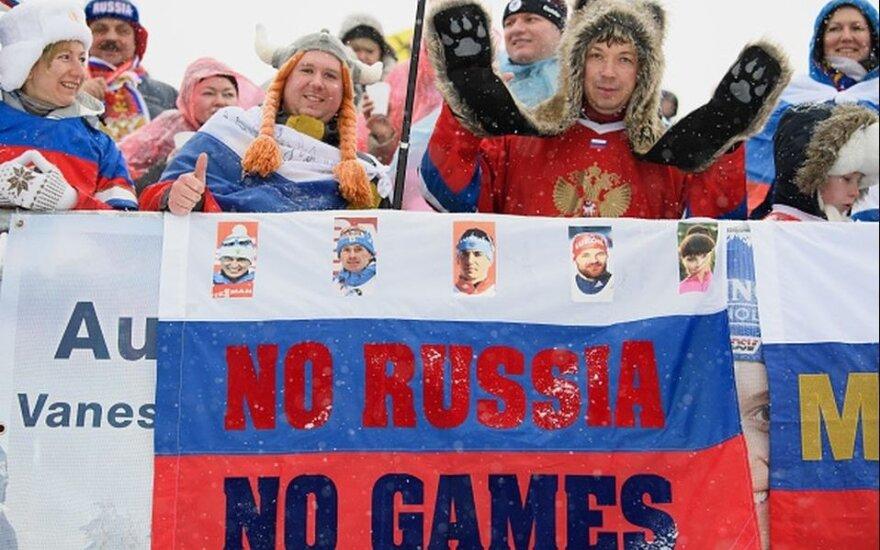Rusijos ėjimas: už grįžimą į olimpinę šeimą sumokėjo 15 mln. JAV dolerių