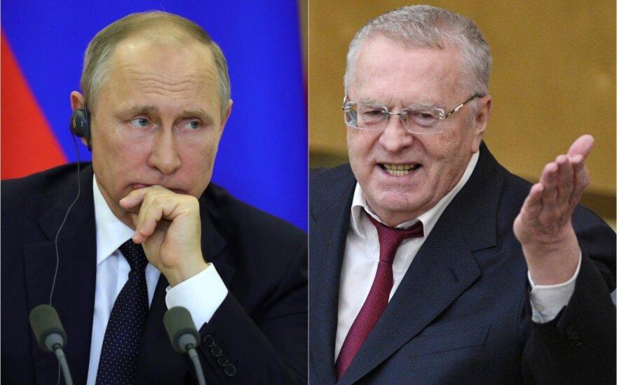 Vladimiras Putinas ir Vladimiras Žirinovskis