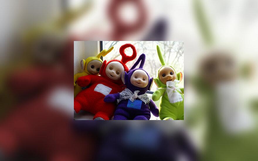 Teletabiai, lėlės, žaislai