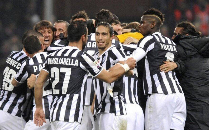 """Turino """"Juventus"""" klubą Italijoje lydėjo sėkmė"""