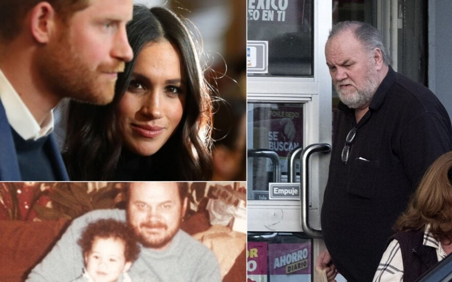 Meghan Markle ir jos tėtis