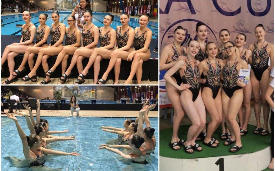 Lietuvos dailiojo plaukimo rinktinė / FOTO: ltuswimming.lt