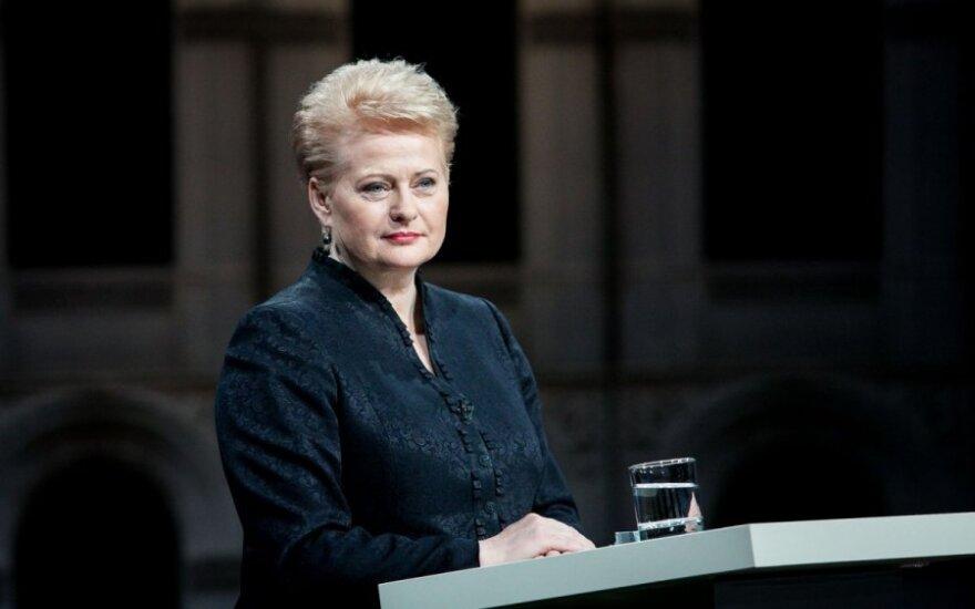 D. Grybauskaitės kadencija: yra gerų darbų, bet...