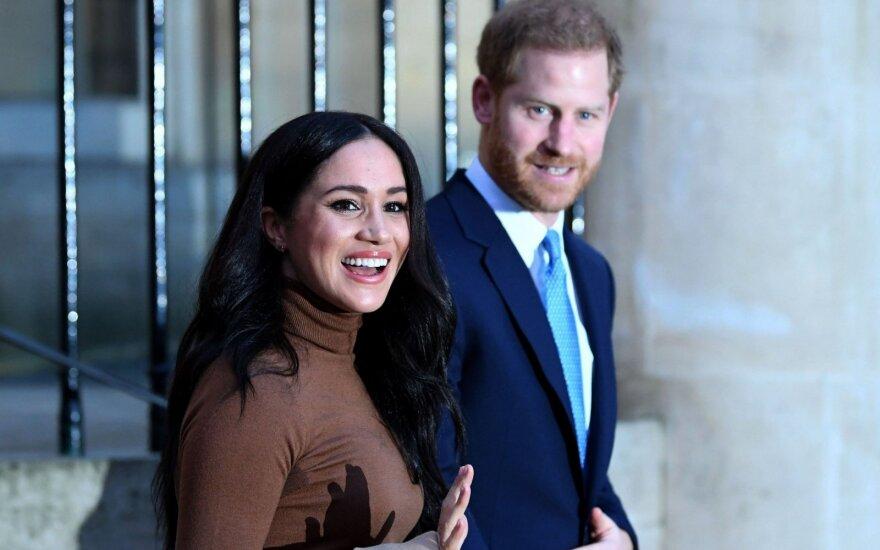 Meghan Marke ir princas Harry