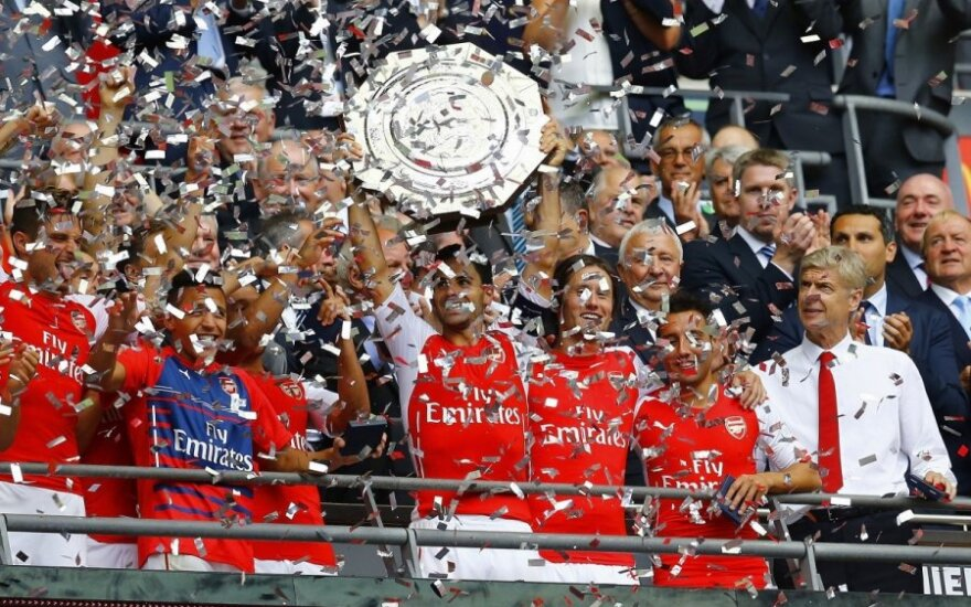 """Arsenal"" futbolininkų triumfas"