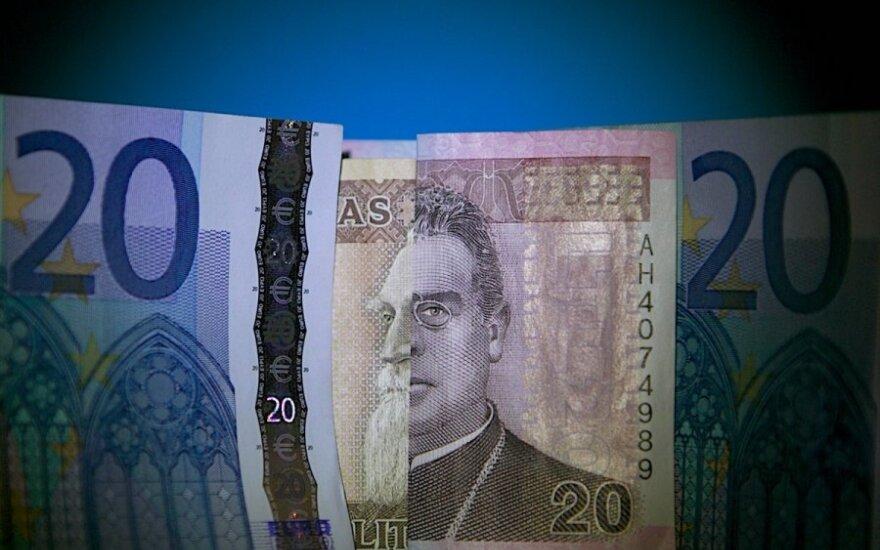 Su euru įvyko lūžis