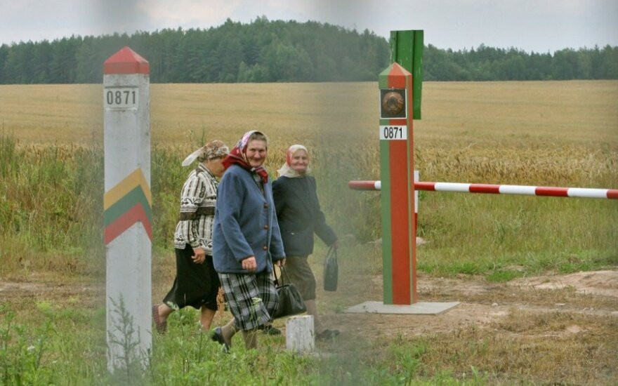 Lithuanian-Belarusian border