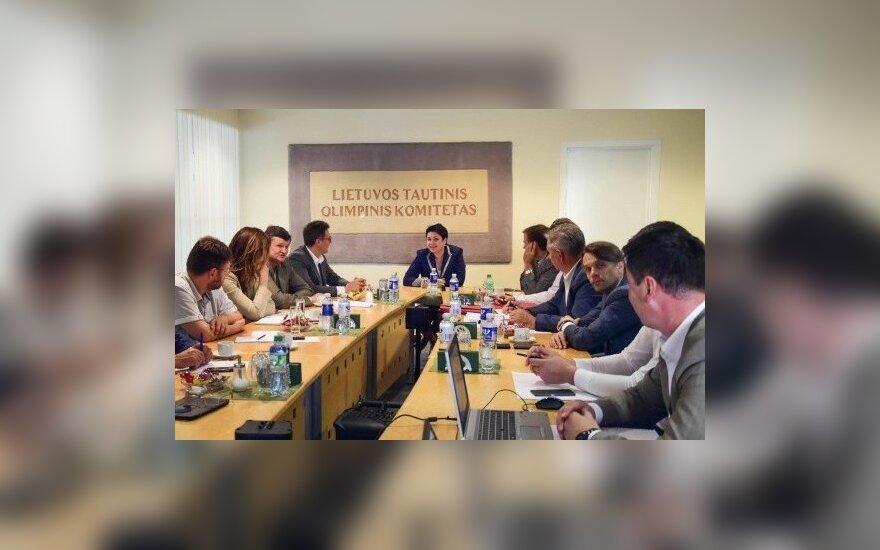 LTOK vyko Seimo jaunimo ir sporto reikalų komisijos posėdis