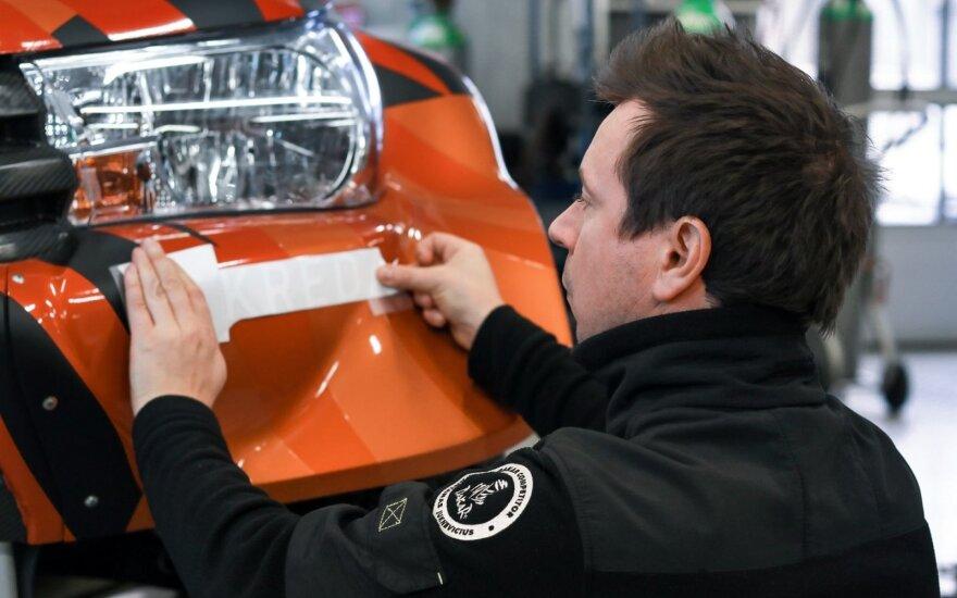 Antanas Juknevičius pakeitė ir automobilio dizainą, ir komandos pavadinimą