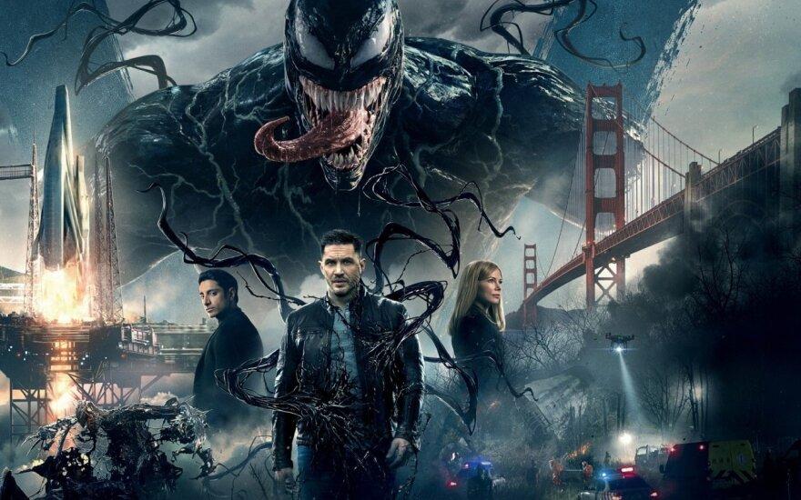 """Kadras iš filmo """"Venomas"""""""