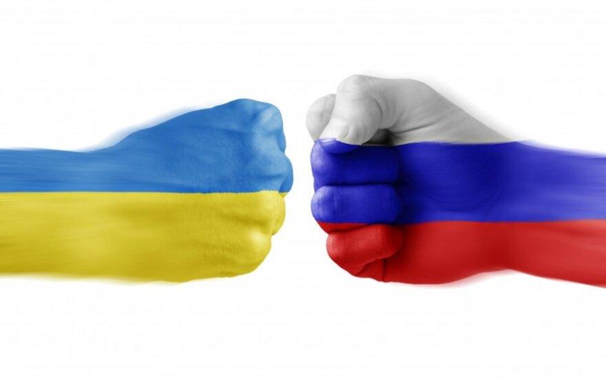 Rusija ir Ukraina socialiniame tinkle susipyko dėl moters: mėtėsi kandžiomis replikomis