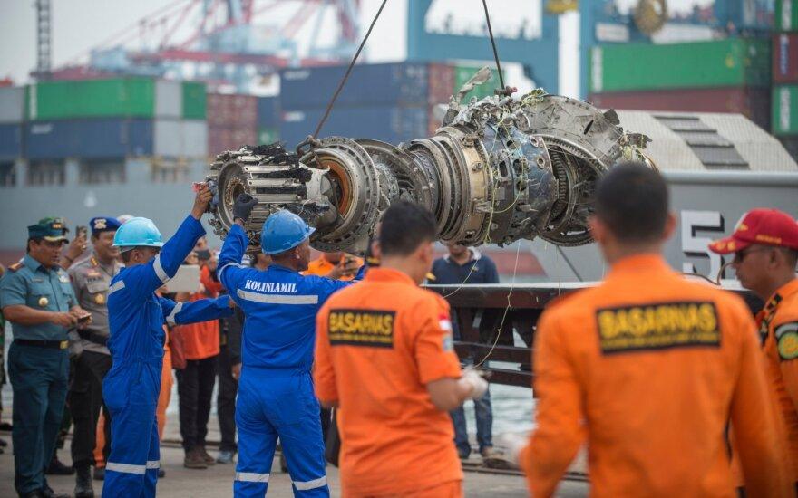"""Indonezija dėl """"Lion Air"""" katastrofos kaltina """"Boeing 737 Max"""" trūkumus"""