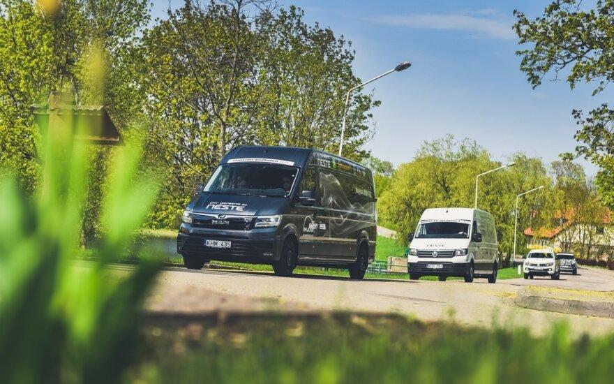 Lietuvoje startuoja komercinio automobilio rinkimai
