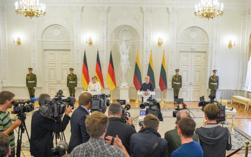 Angela Merkel ir Dalia Grybauskaitė