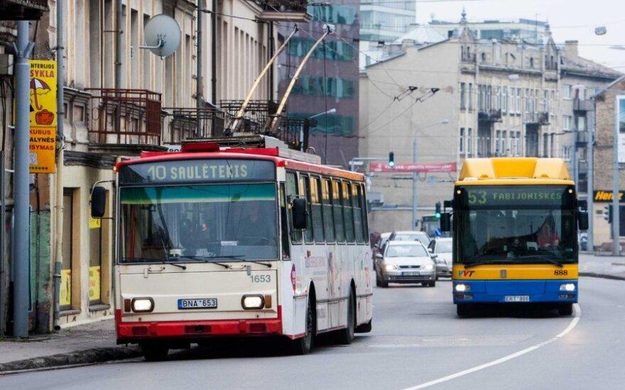Pasidalink! Viešojo transporto maršrutų pakeitimai Vilniuje