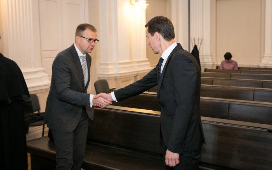 """""""MG Baltic"""" byloje liudijęs Mockus nežino, apie ką Kurlianskis kalbėjo su Gapšiu"""