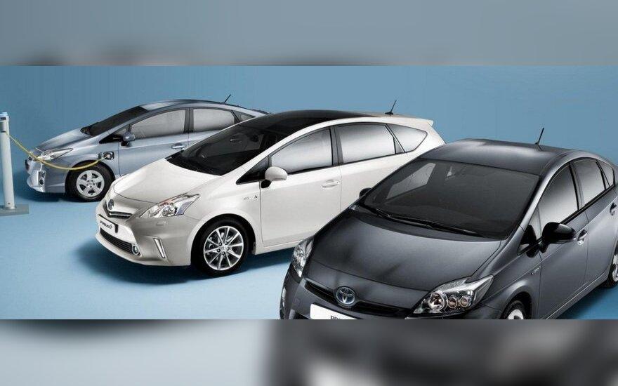 Gegužę automobilių pardavimai Japonijoje buvo mažiausi nuo 1968-ųjų