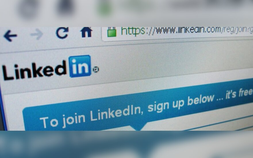 """LinkedIn"" socialinis tinklas"