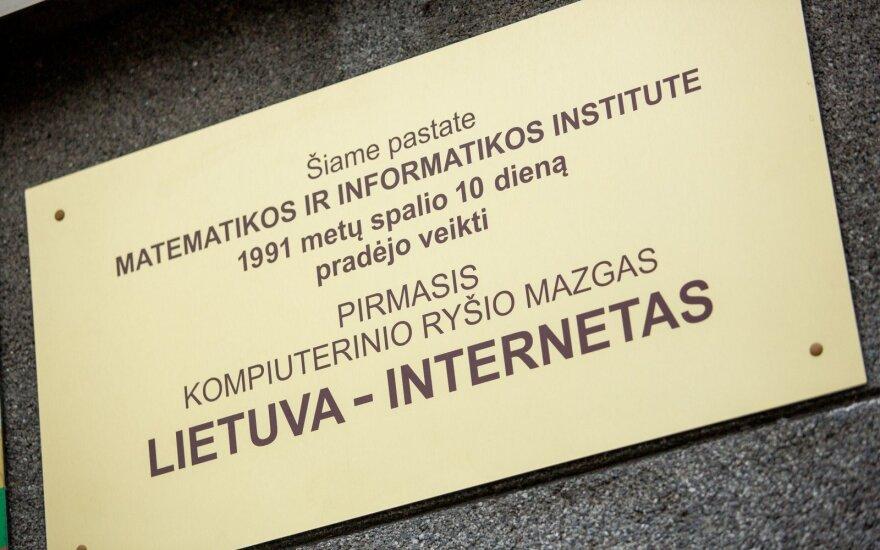 Vilniuje įamžinta interneto pradžios data