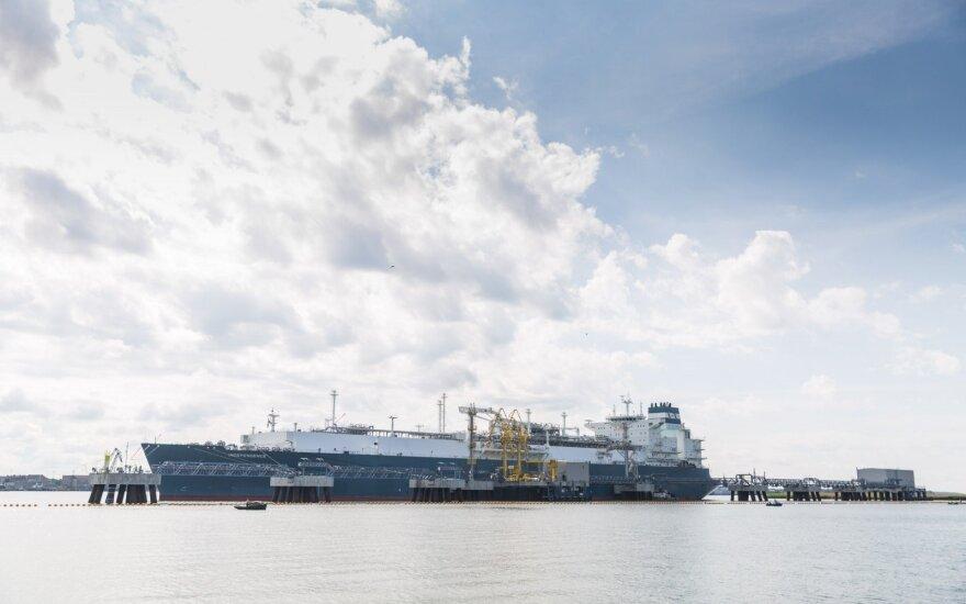 V. Pranckietis: JAV dujos atpigintų SGD Lietuvoje