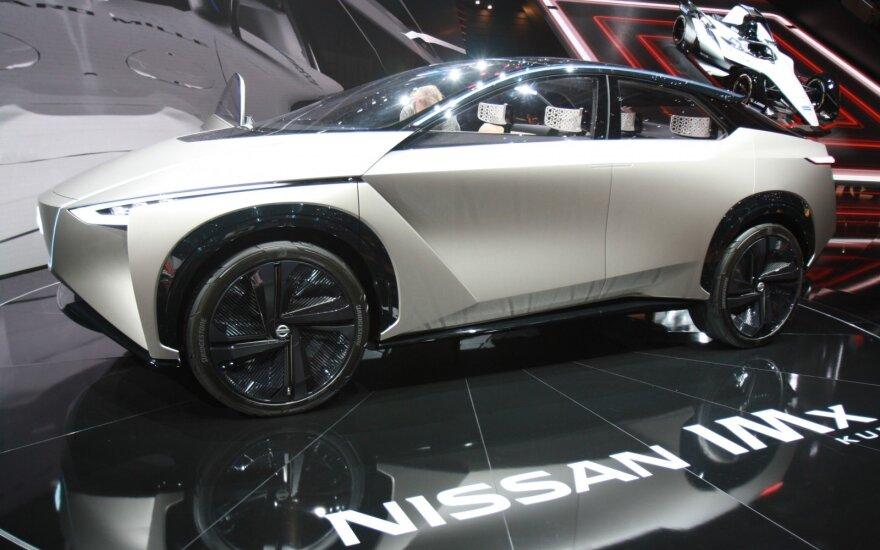 """Koncepcinis """"Nissan"""" modelis"""