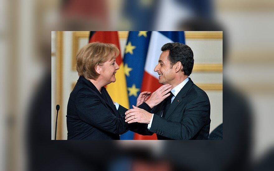 Prancūzija ir Vokietija rado išeitį, kaip bausti netaupančius, nekeičiant ES konstitucijos