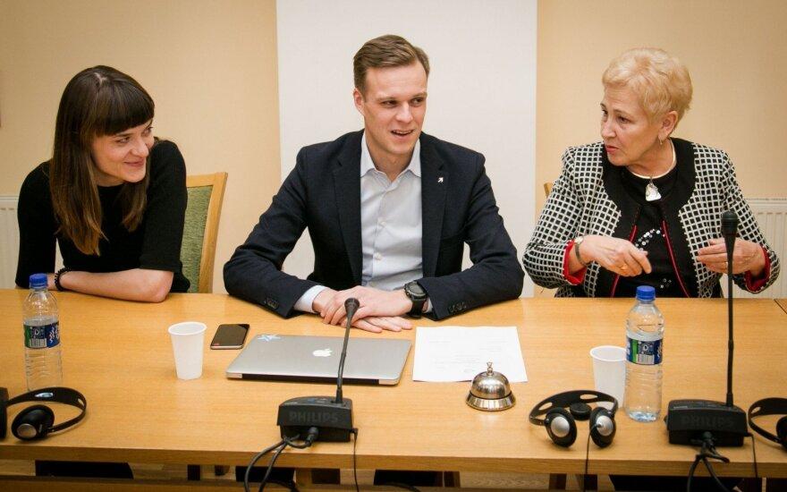 Radvilė Morkūnaitė-Mikulėnienė, Gabrielius Lamdsbergis, Irena Degutienė