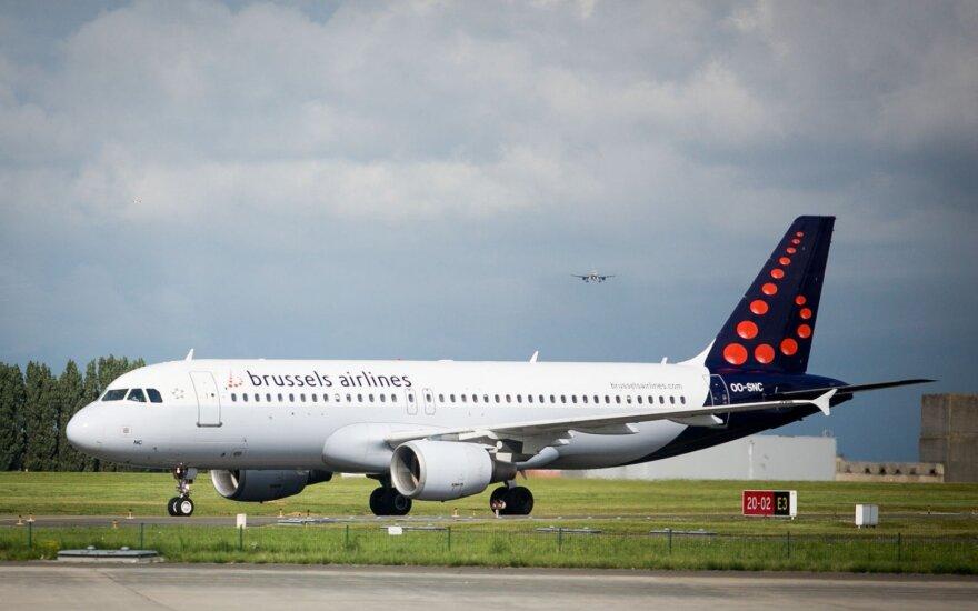 Dėl streiko Belgijoje atšaukti du skrydžiai iš Lietuvos