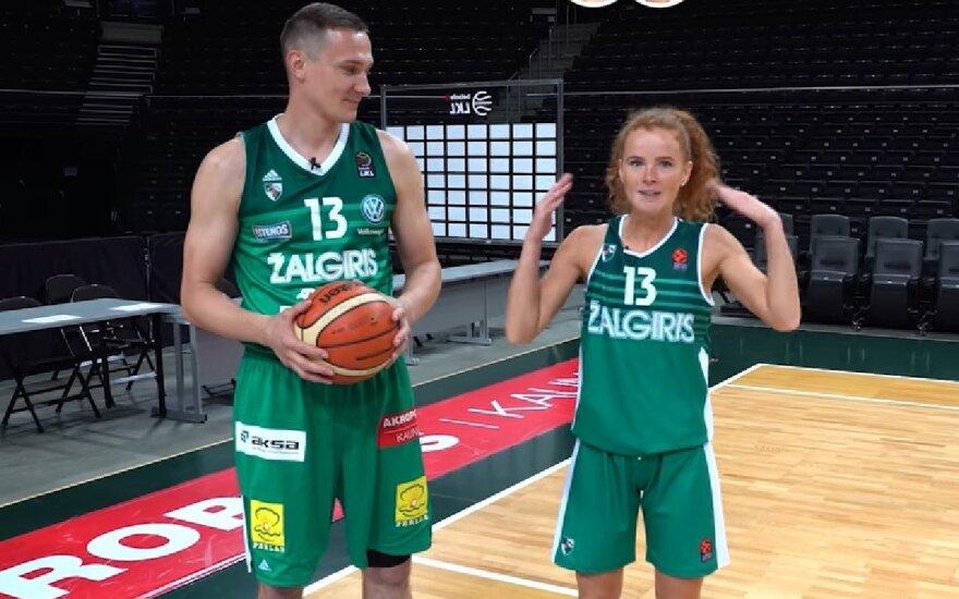 Paulius Jankūnas ir Dalia Belickaitė