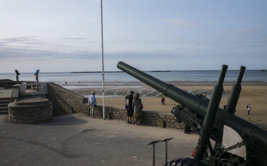 Paplūdimys Normandijoje