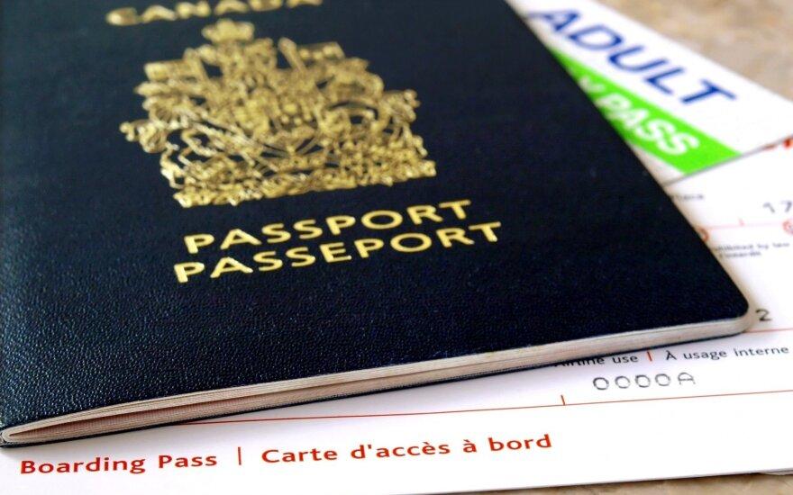 Kanada netrukus leis turėti pasus su nenurodyta lytimi