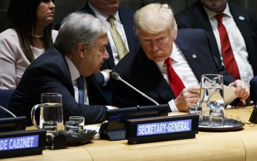Donaldas Trumpas Jungtinėse Tautose