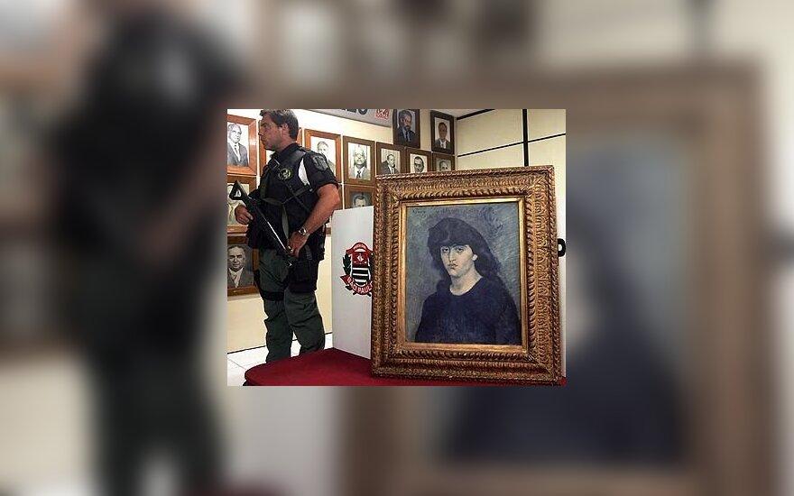 Ispanijoje pagrobtas sunkvežimis su Picasso ir kitų menininkų darbais