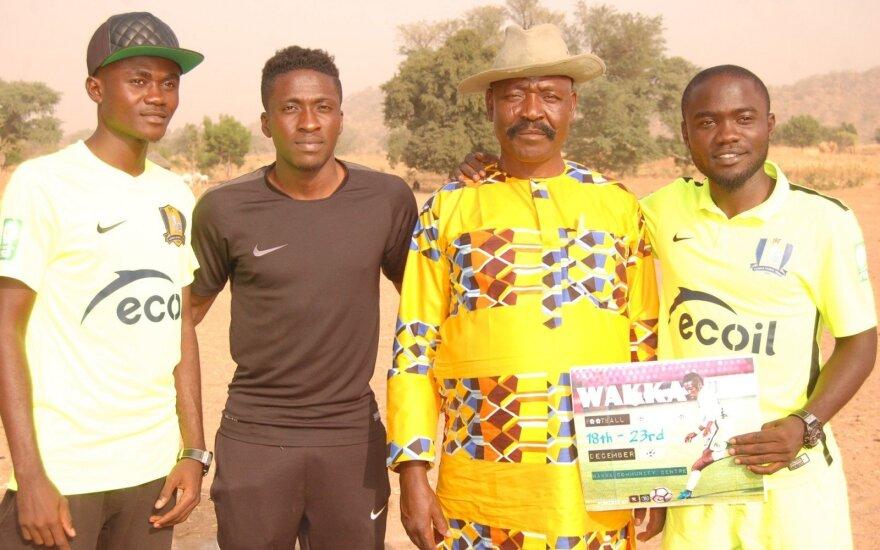 Alma Wakili organizavo turnyrą Nigerijoje