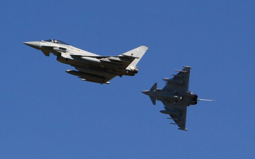 NATO jets in Lithuania alerted by Russian planes over Baltic sea