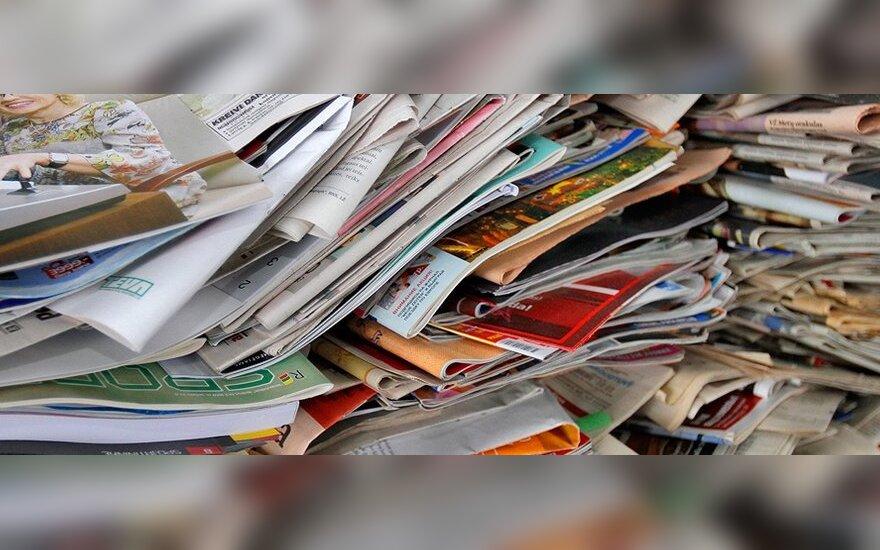 Seimas linkęs įteisinti 9 proc. PVM lengvatą spaudai
