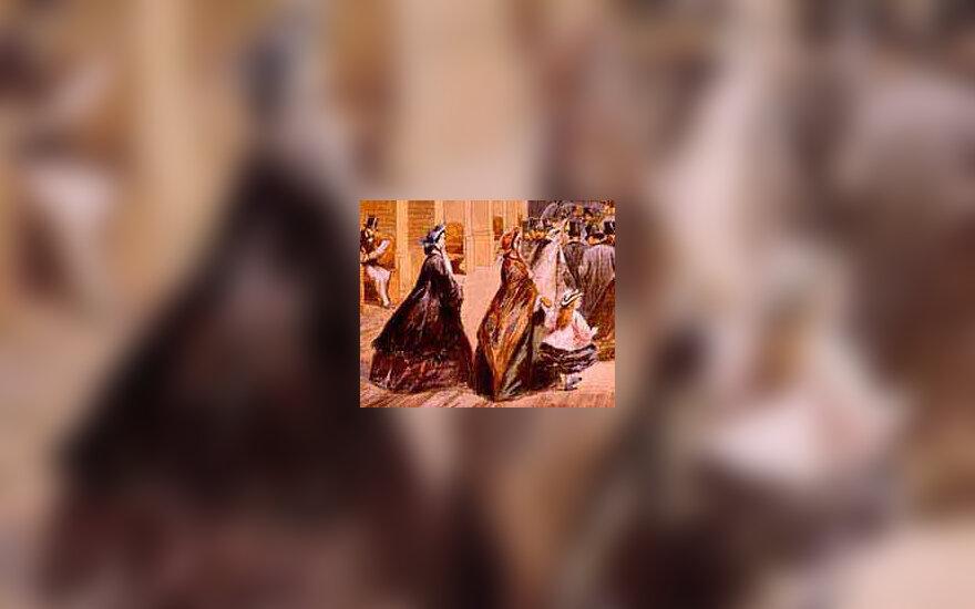 Viktorijos laikų moterys