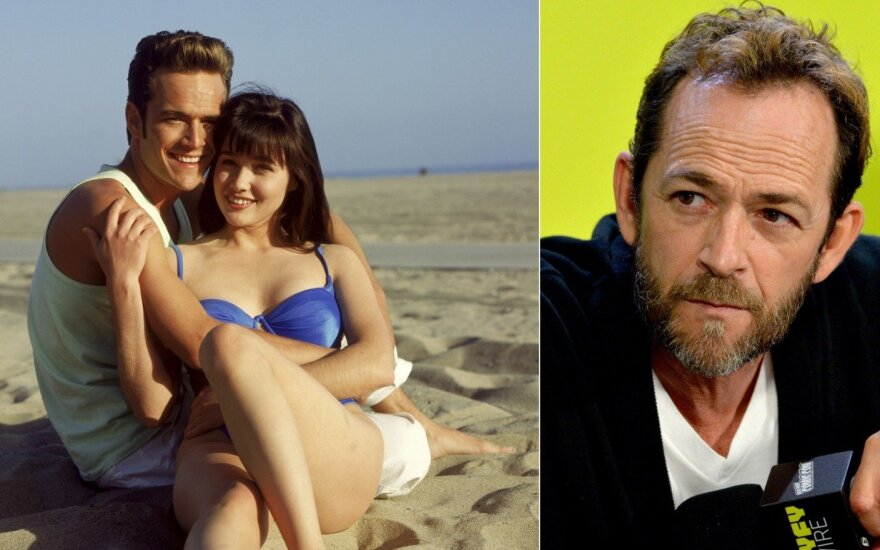 Luke Perry ir Shanen Doherty