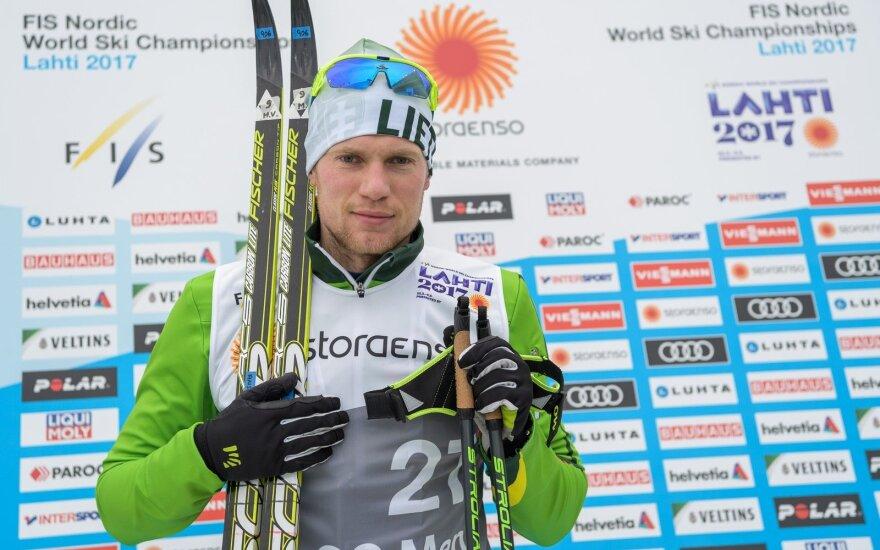 Mantas Strolia iškovojo teisę dalyvauti olimpinėse žaidynėse