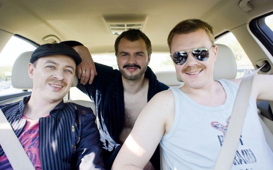 Aistis Mickevičius, Mindaugas Stasiulis ir Gintas Vaičikauskas