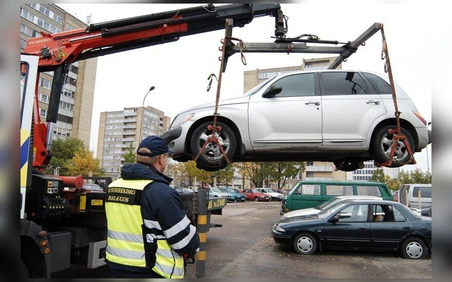 Priverstinis automobilio nutempimas