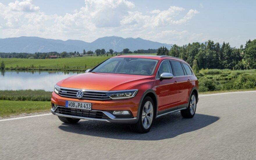 "Naujasis ""Volkswagen Passat Alltrack"""