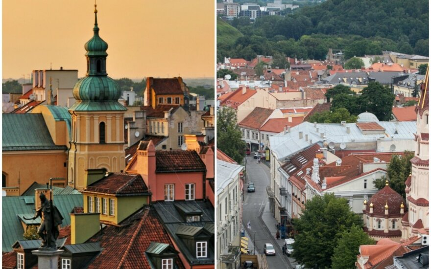 Warsaw and Vilnius